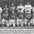 Yahoos '99: (hinten von links) Oliver Stange (Position: Outfield/Trikot-Nr.: 56), Jason Doll (2nd Base/44), Andre Scholz (In-/Outfleld/2), Rüdiger Funke (Outfield/55), Gordon Nobs (3rd Base/14), Michael Dörsam (Catcher/10) sowie (vorn von links) Oliver Madsack (Shortstop/13), Walter Schauer (Centerfield/8), Thorsten Wöhner (Pitcher/57), Sascha Stäritz (2nd Base/6) und Stefan Peter (1st Base/43). Es fehlt Frank Geffers (Pitcher/5). Foto: H. Landmann